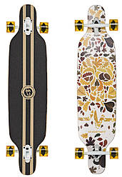"Лонгборд Fish Skateboards 38"" - Cranium / Осенний Кранч (ln121)"
