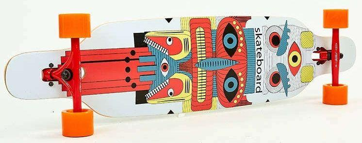 "Лонгборд Fish Skateboards 38"" - Totem 96 см (ln128)"