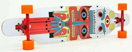 "Лонгборд Fish Skateboards 38"" - Totem  96 см (ln128), фото 2"