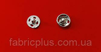 Кнопка пришивная металлическая 9 мм никель