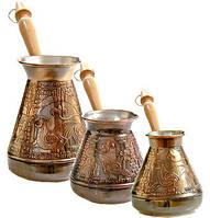 Турки, джезвы для кофе
