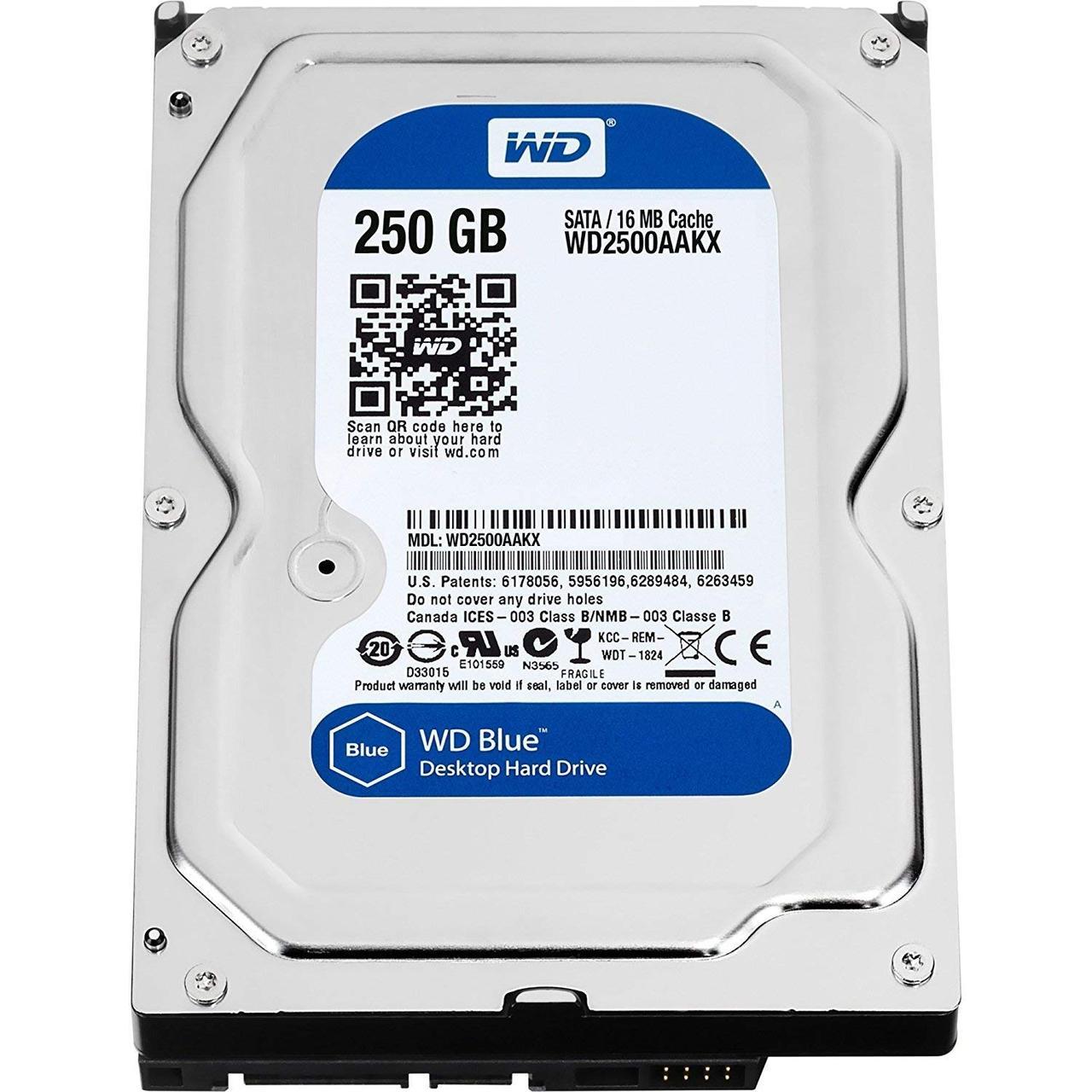 HDD WD  250 Гб SATA Б/У отличное состояние