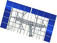 Солнечный трекер 40 панелей (без металлоконструкции)