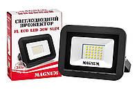 Прожектор світлодіодний MAGNUM FL ECO LED 30Вт slim 6500К IP65