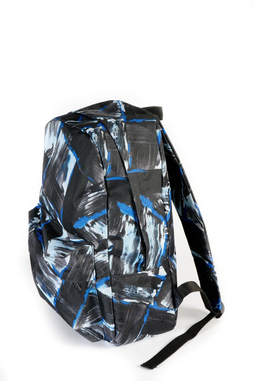 Рюкзак Mayers молодежный с принтом абстракция (голубой), 14 л, фото 2