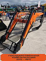 Навантажувач тракторний Фронтальний Швидкознімний НТ-1200 на МТЗ., фото 2