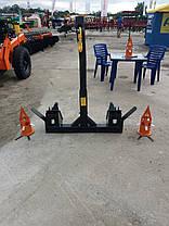 Навантажувач тракторний Фронтальний Швидкознімний НТ-1200 на МТЗ., фото 3
