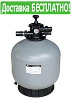 Фильтр для бассейна песочный EMAUX V450 (8,1 м3/час, 45 кг песка)