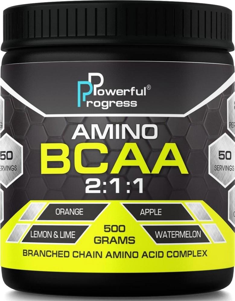 BCAA Powerful Progress BCAA 2:1:1 500 g