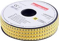 """Маркер кабельный e.marker.stand.1.2.5.0, 1-2,5 кв.мм, """"0"""", 1000 шт"""