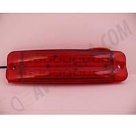 Фонарь габаритный 18 диодный красный 2х рядный, фото 1