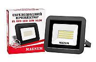 Прожектор світлодіодний MAGNUM FL ECO LED 50Вт slim 6500К IP65, фото 1