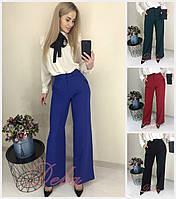 Женский стильные брюки трубы Батал до 52 р 17709-1, фото 1