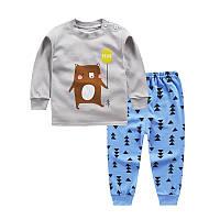 "Пижама для мальчика марки ""JUSTY"" от 6 мес до 4-х лет. ХЛОПОК!"