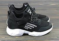 Женские кроссовки Lonza FLM80191 BLACK 36 23 см, фото 1