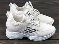Женские кроссовки белые Lonza FLM80191 36 23 см, фото 1