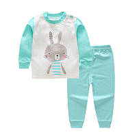 """Пижама для детская марки """"JUSTY"""" от 6 мес до 4-х лет. ХЛОПОК!"""