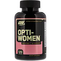 Optimum Nutrition Opti Women 120 caps. Витамины для женщин
