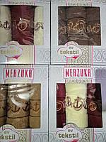 Полотенца с вышивкой для мужчин  Подарочный набор