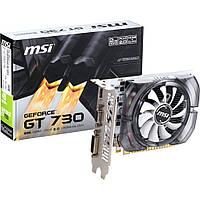 ✖Видеокарта MSI GF GT730 2GB GDDR3 128 bit 2048 MB для игр графика nvidia 2 ГБ dota LOL cs go