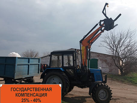 Погрузчик Фронтальный Быстросъёмный НТ-1200 КУН на МТЗ С Джойстиком., фото 2