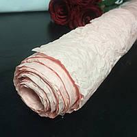 Бумага розовая для упаковки цветов и подарков