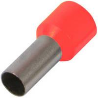 Изолированный наконечник втулочный e.terminal.stand.e6012.red 6,0 кв.мм, красный