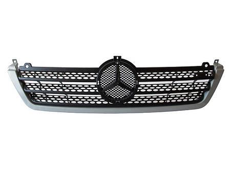Решетка + рамка Mercedes Sprinter спринтер, фото 2