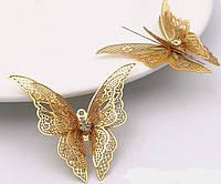 Метелик з камінчиком декор