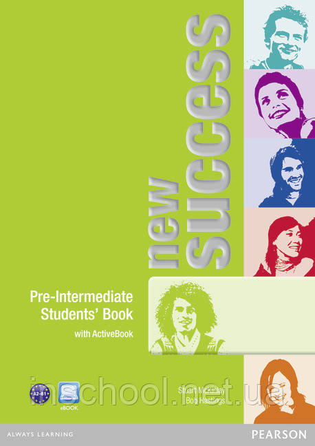 New Success Pre-Intermediate Students' Book (with DVD / Active Book) ISBN: 9781408271513