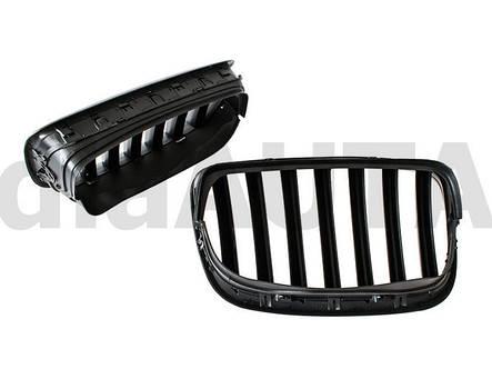 Решетка радиатора MAT BMW X5 E70 06-09 матовая, фото 2