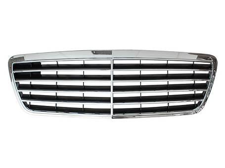 Решетка радиатора Mercedes W210, фото 2