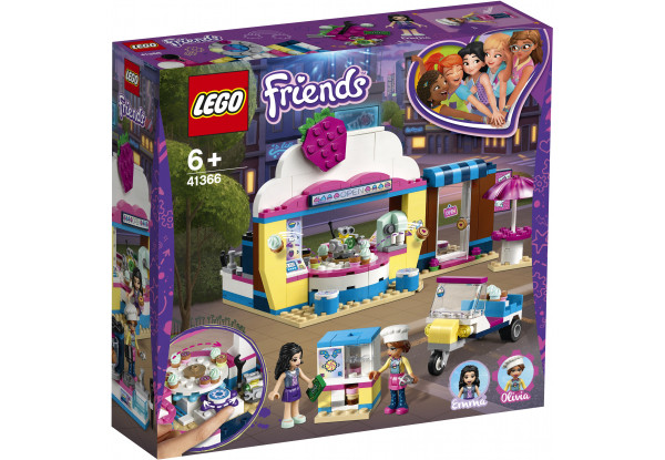 Lego Friends Кондитерская Оливии 41366