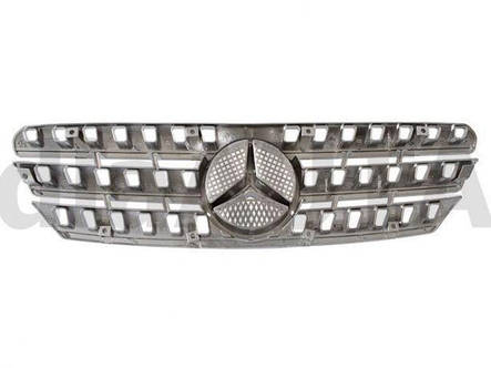 Решетка радиатора TUNING CHROM Mercedes мерседес мл W163 тюнинг стиль W164 ml, фото 2