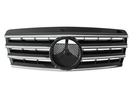 Решетка радиатора Mercedes W202, фото 2
