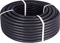 Труба гофрированнаятяжелая (750Н) e.g.tube.pro.14.20 (50м).black, черная