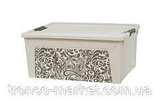 Алеана Контейнер Smart Box с декором 7,9л. Home