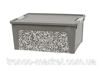 Алеана Контейнер Smart Box с декором 7,9л. Home, фото 2