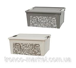 Алеана Контейнер Smart Box с декором 7,9л. Home, фото 3