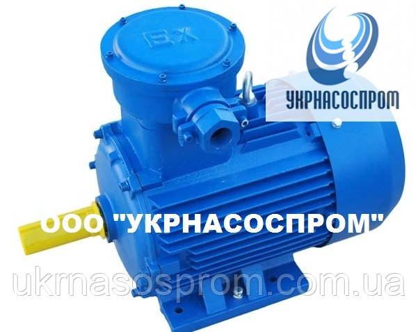 Электродвигатель АИМ100S2 4 кВт 3000 об/мин взрывозащищенный