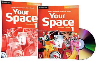 Английский язык / Your Space / Student's+Workbook+CD. Учебник+Тетрадь (комплект с диском), 1 / Cambridge