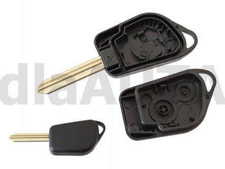 Корпус ключа  Citroen Berlingo Xsara Picasso C5, фото 2