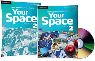 Английский язык / Your Space / Student's+Workbook+CD. Учебник+Тетрадь (комплект с диском), 2 / Cambridge