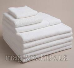 Махровое полотенце плотность 380гр/м2. белое Пакистан