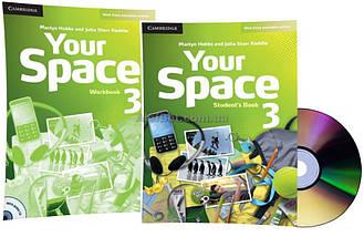 Английский язык / Your Space / Student's+Workbook+CD. Учебник+Тетрадь (комплект с диском), 3 / Cambridge