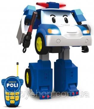 Робот-трансформер Robocar POLI Silverlit Поли на радиоуправлении, 20 см