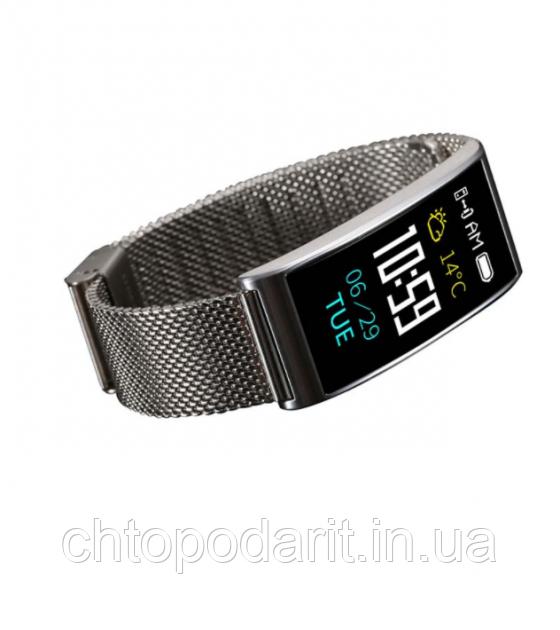 Фитнес-браслет SUNROZ Smart MioBand X3 - серебро