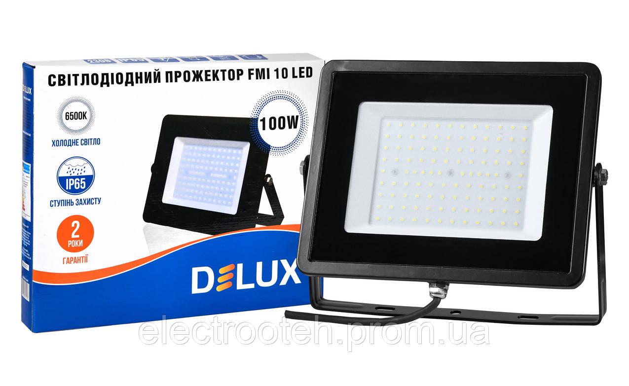 Прожектор світлодіодний FMI 10 LED 100Вт 6500K IP65