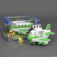 Самолет спасателей LQ 2034 Щенячий Патруль (24) серия Джунгли, в кор-ке