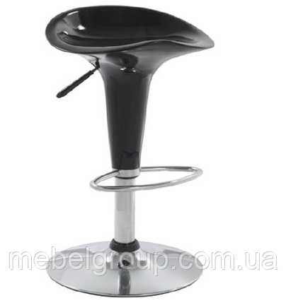 Стул барный Эприл черный, фото 2